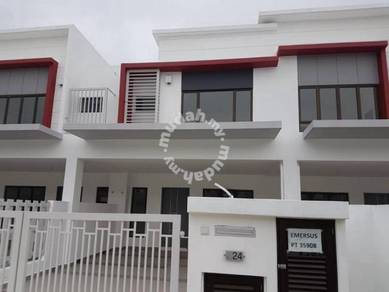Brand New Double Storey Emersus Type H2 at Precinct 17 Setia Alam