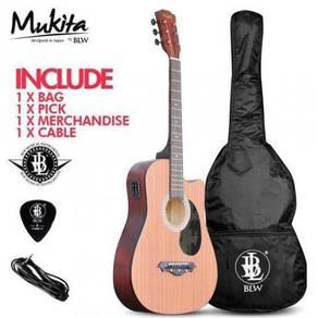 BLW Semi Acoustic Electric 2EQ Guitar - Sprue
