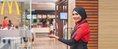Restoran McD BATU3 SHAH ALAM TTDI Waiter Kitchen