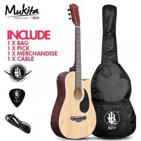 BLW Semi Acoustic 2EQ Guitar - ASH