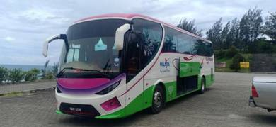Sewa Bas Sabah Kota Kinabalu Rent Bus