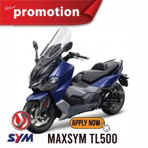 Sym maxsym tl500 mco promotion low deposit
