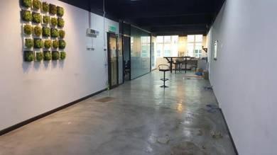 Modern Fully Furnished Office at Bandar Dataran Segar Lukut, For Rent