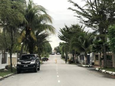 Bandar Mahkota Cheras, Pearl Villa Bungalow Land, Gated guarded area