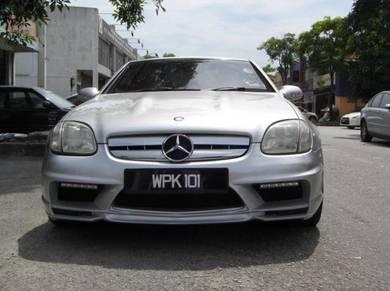 Mercedes slk r170 bodykit