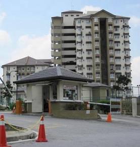 [FREE HOLD +NEAR LRT ALAM MEGAH+LIFT] Apartment Seri Ixora Shah Alam