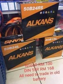 Car battery batteries kereta paling murah 55R NS60