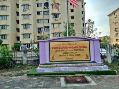 [STRATA TITLE, MURAH] Apartment Subang Suria, Subang Bestari Shah Alam