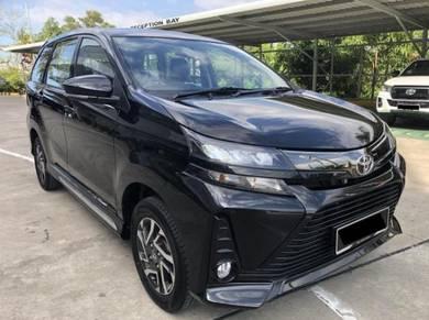 2021 Toyota AVANZA S+ 1.5 Auto dan 7 Tempat Duduk