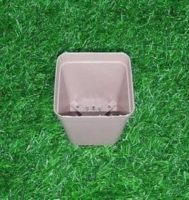 1 PCS Flower Pot square 7cm (Old Purple)