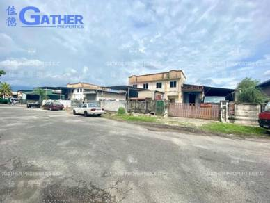 Gopeng Double Storey Semi D Factory For Sale
