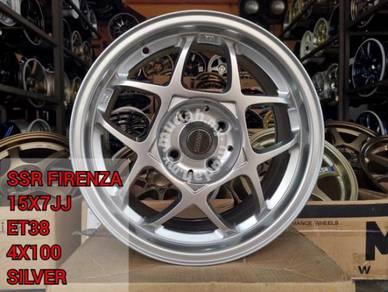 Rim 15 Inch SSR RF Firanza Myvi BLM FLX Viva Bezza