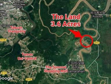 3.6 Acres Land at Kampung Tambey, Samarahan Kuching