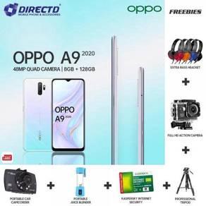 OPPO A9 (2020) 8GB/128GB/5K Batt + 6 HADIAH