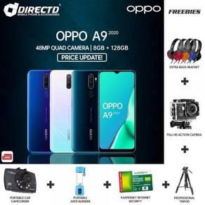 OPPO A9 (2020) 8GB/128GB-HARGA BARU + 6 Hadiah