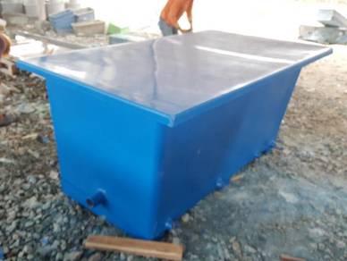 Fiberglass Filtration Tank
