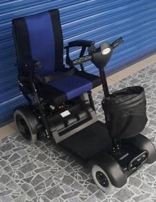 Electric wheelchair scooter shop kerusi roda