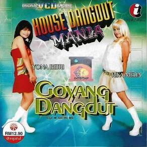 House Dangdut Mania Goyang Dangdut Original VCD