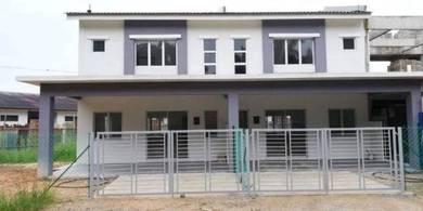 Rumah murah Melaka - Gov staff - Rumah baru 2 tingkat - 0 deposit