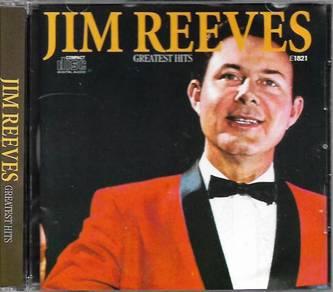 Jim Reeves Greatest Hits CD 30 Golden Oldies