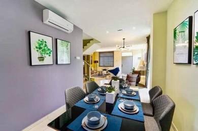 New Double Storey Terrace Meru
