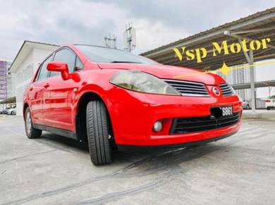 2010 Nissan LATIO 1.6 ST-L (A)Red