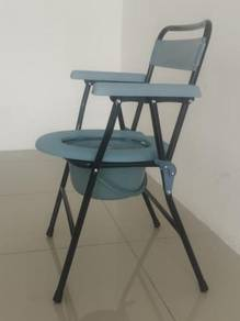 Commode shower chair shop with pot shop