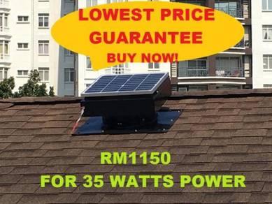 Solar Roof Attic Fan Kuala Lumpur