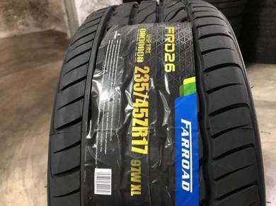 Tayar baru 235 45 17 Farroad FRD26 new tyre 2021