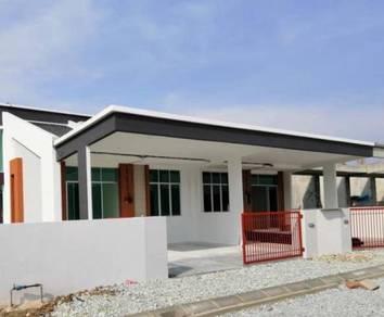 New Single Storey House at Ipoh Tg Rambutan