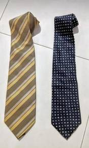 Monti and other brands silk ties