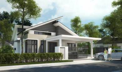 Single Storey Bungalow with zero entry cost