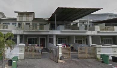 Gated & guarded 2 STY house at Tmn Klebang Ria Chemor Ipoh