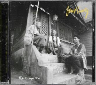 Fourtwnty Ego Fungsi Otak Imported CD Indo Pop
