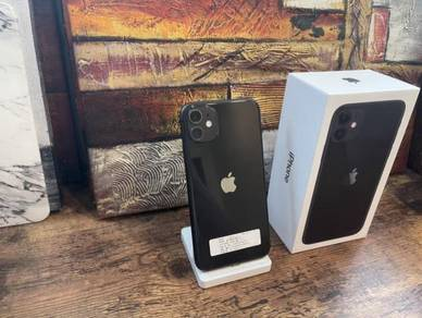 Iphone 11 256GB MY BLACK official
