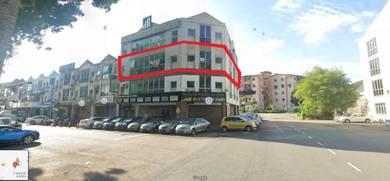 AUCTION Upstair Office No.33A, Jalan Jaguh 1, Taman Harmoni 2, Skudai