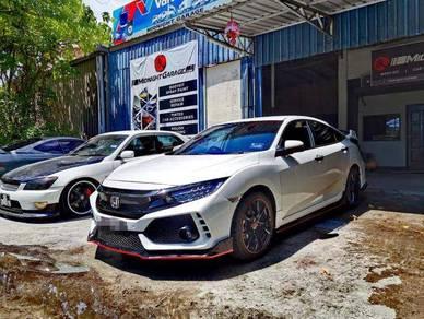 Honda Civic Type R Convertion Bodykit(PP Material)