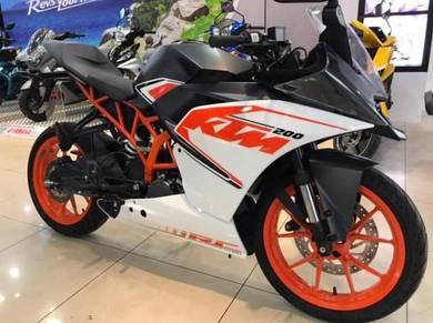 KTM RC200 ~ RC 200 ~ KHM Kian Huat