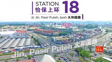 Shop Lot with rental return at Station 18, Ipoh