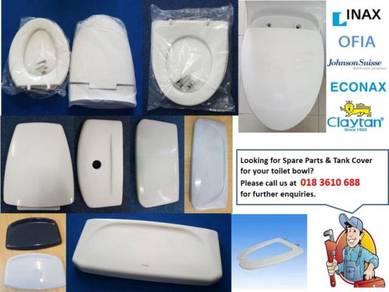 INAX, OFIA, ECONAX, Johnson Suisse - Toilet parts