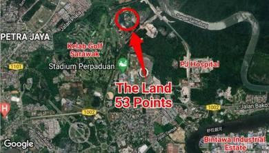 53 Points Land at Kasuma Resort, Jalan Stadium Kuching