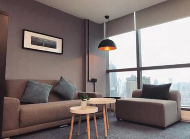KLCC Luxurious ID Fully Furnished Corner Office High Flr SUPERB View