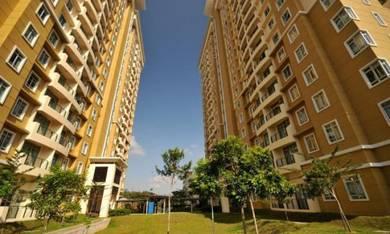 FREEHOLD UNDER VALUE Big Sqft Ixora Apartment Bukit Beruang MMU Keroh