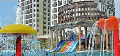 (Loan 110%!!) HOTEL APARTMENT~BAYOU Water Park Resort {for HOMESTAY}