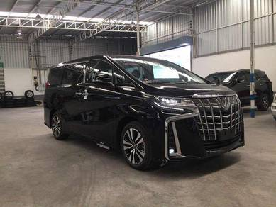 Hire Toyota Vellfire or Alphard with driver