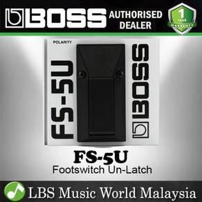 Boss FS-5U Unlatch Foot Switch Non Latching Pedal