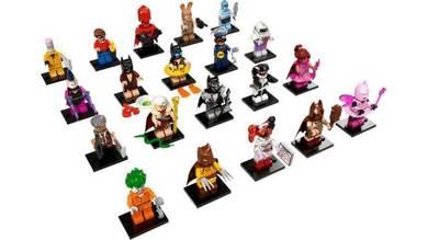 Lego 71017 Batman Movie Minifigures Complete Set