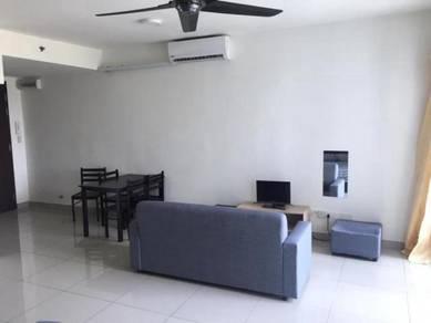 Studio Unit in Trefoil Setia Alam Facing Pool with Full Furnishing