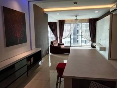 Apartment Zeva Residence 2R2B Full Furnish Corner Condo Seri Kembangan