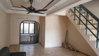 Taman Selesa Jaya double Storey Low Cost Terrace House Silat Gayong